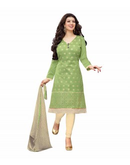 Casual Wear Green Salwar Suit - FD170-179