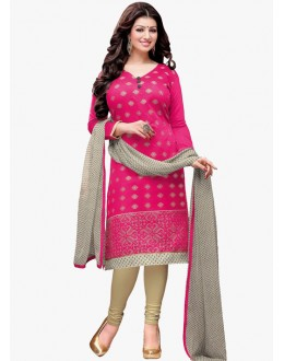 Casual Wear Pink Salwar Suit - FD170-180