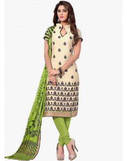 Party Wear Green Salwar Suit - FD170-185