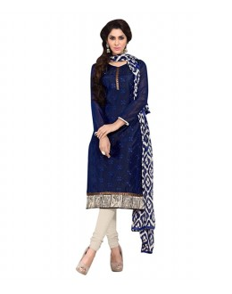 Casual Wear Blue Salwar Suit - FD170-191
