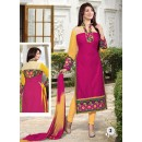 Ayesha Takia Designer Pink Embroidered Straight Cut Party Wear Salwar Suit - FA001-02 ( FFH-FA001 )
