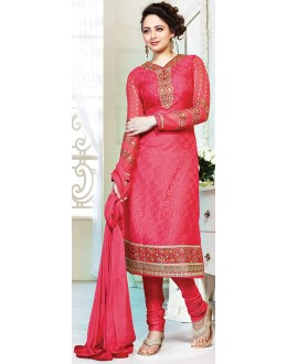 Exclusive New Designer Unstitched Red Gorgeous Salwar Suit-FA247-3004(FFH-FA247)