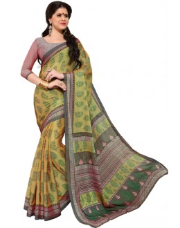 Casual Wear Multicolour Chiffon Saree - RKSG1538B