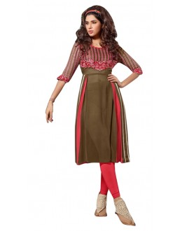 Fancy Readymade Multicolour Georgette Kurti - 60008