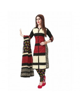 Party Wear Multicolour Crepe Salwar Suit - 220