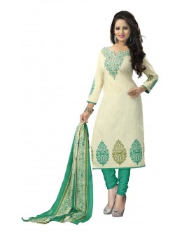 Party Wear Multicolour Crepe Salwar Suit - 215