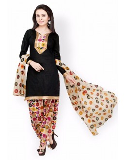 Party Wear Multicolour Crepe Salwar Suit - 226