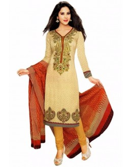 Party Wear Multicolour Crepe Salwar Suit - 225