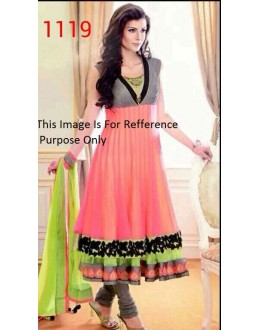 Bollywood Replica - Traditional Multicolour Anarkali Suit   - 1119