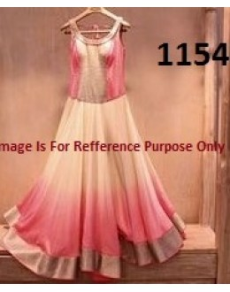 Bollywood Replica - Party Wear Multicolour Anarkali Suit   - 1154