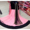 Bollywood Replica - Traditional Black Anarkali Suit   - 1183