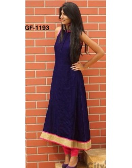 Bollywood Replica - Fancy Blue Kurti   - 1193