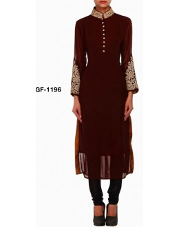Bollywood Replica - Designer Brown Kurti   - 1196