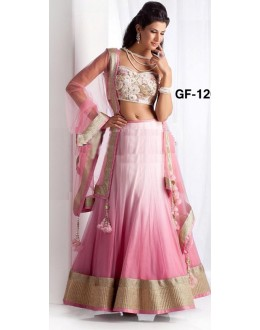 Bollywood Replica - Designer Pink Lehenga Choli -  1205