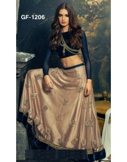 Bollywood Replica - Designer Blue Lehenga Choli -  1206
