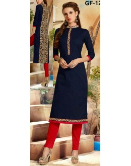 Bollywood Replica - Fancy Blue Kurti   - 1209