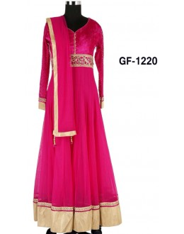 Bollywood Replica - Designer Dark Pink Anarkali Suit   - 1220
