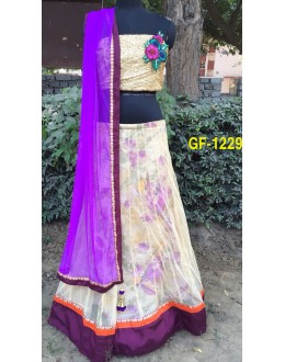 Bollywood Replica - Designer Multicolour Lehenga Choli -  1229