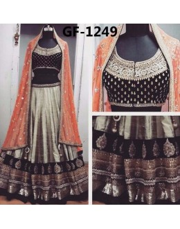Bollywood Replica - Designer Multicolour Lehenga Choli -  1249