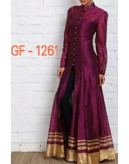 Bollywood Replica - Designer Maroon Anarkali Suit   - 1261