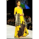 Bollywood Replica - Designer Yellow Fancy Georgette Unstitched Anarkali Suit - A22 ( MJ-DC )