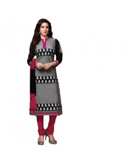 StarMart Womens Cotton Straight Dress Material of Selina - 4706