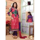 StarMart Women's Cotton Unstitched Salwar Kameez Dress Material-8206