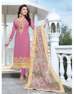 Designer Traditional Straight-cut Salwar Suit - 29379