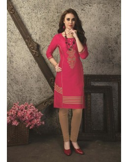 Readymade Multicolour Cotton Kurti  - 29464