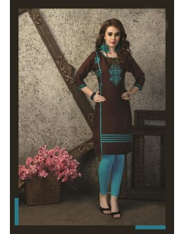 Readymade Multicolour Cotton Kurti  - 29465