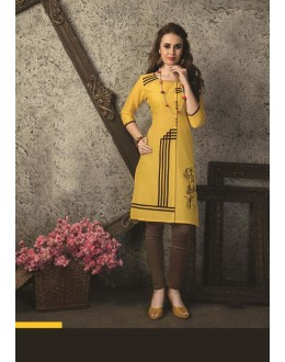 Readymade Multicolour Cotton Kurti  - 29466