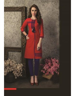 Readymade Multicolour Cotton Kurti  - 29467