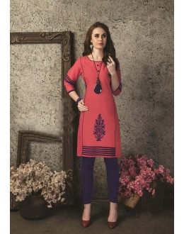 Readymade Multicolour Cotton Kurti  - 29470