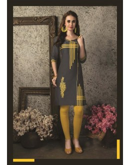 Readymade Multicolour Cotton Kurti  - 29471