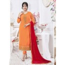 Designer Georgette with Embroiderd work Semi-Stitched Salwar Suit - 29510