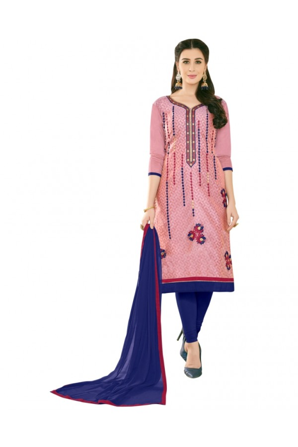SUPRIYA 2 MODAL COTTON WITH HEAVY EMBROIDERY SALWAR SUIT - 2001