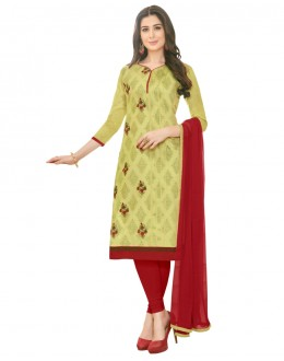 SUPRIYA 2 MODAL COTTON WITH HEAVY EMBROIDERY SALWAR SUIT - 2002