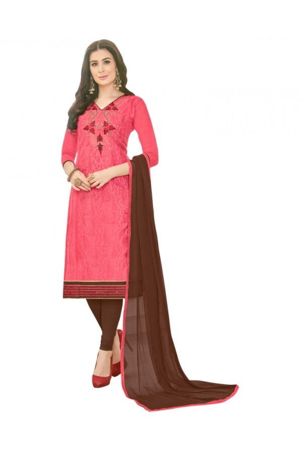 SUPRIYA 2 MODAL COTTON WITH HEAVY EMBROIDERY SALWAR SUIT - 2005