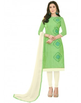 SUPRIYA 2 MODAL COTTON WITH HEAVY EMBROIDERY SALWAR SUIT - 2009