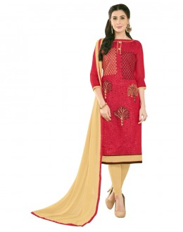 SUPRIYA 2 MODAL COTTON WITH HEAVY EMBROIDERY SALWAR SUIT - 2010