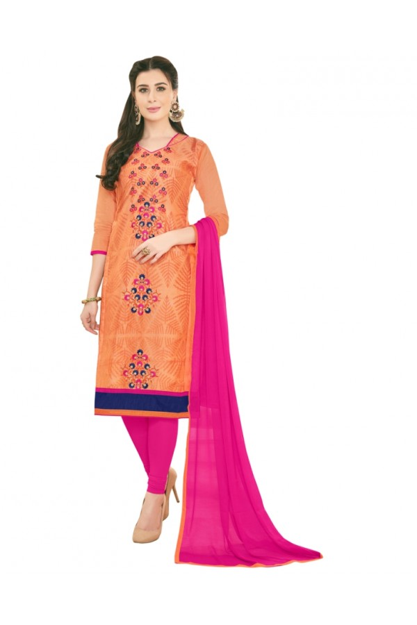 SUPRIYA 2 MODAL COTTON WITH HEAVY EMBROIDERY SALWAR SUIT - 2011