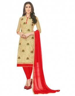 SUPRIYA 2 MODAL COTTON WITH HEAVY EMBROIDERY SALWAR SUIT - 2012