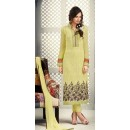 Office Wear Green Georgette Salwar Suit - S-54
