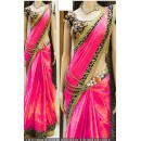 Bollywood Replica - Party Wear Pink Saree - 1024-B