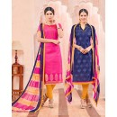 Salwar Suit With Two Top & One Bottom - 456
