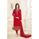 Ayesha Takia In Red Georgette Salwar Suit  - 2233