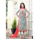 Ayesha Takia In Grey Georgette Salwar Suit  - 303