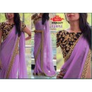 Bollywood Replica - Party Wear Purple Saree - 9683-D