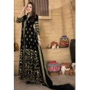 Ethnic Wear Black Banglori Silk Anarkali Suit  - 14001