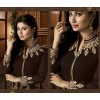 Party Wear Brown Georgette Palazzo Suit - 12023